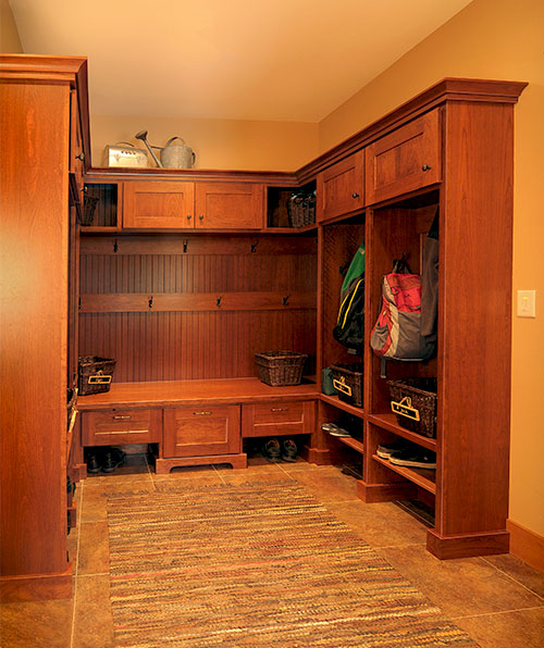 Wood Specialist customer locker