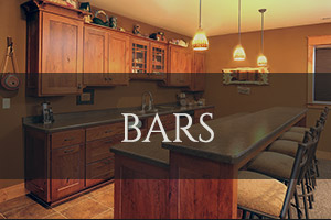Custom Bar Cabinetry