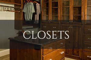Custom Closets Cabinetry