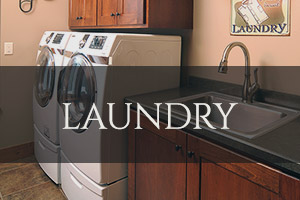 Custom Laundry Room Cabinetry